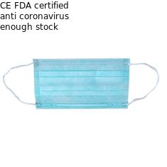 Ready To Ship Disposable Pollution Mask , 3 Ply Face Mask For Personal Care